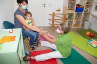 Kinder Bobath im BDH-Therapiezentrum Ortenau